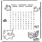Håndarbejde - Pokemon puzzle 3