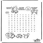 Håndarbejde - Pokemon puzzle 4