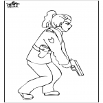 Diverse - Policewoman