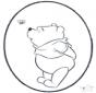 Pooh prickingcard 3