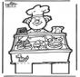 Prickingcard baker