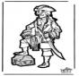 Prickingcard pirate 2