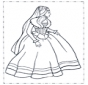 Princes in jurk