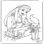 Diverse - Prinses en kat