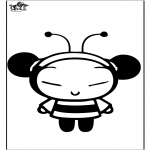 Sjove figurer - Pucca the bee