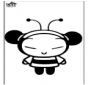 Pucca the bee