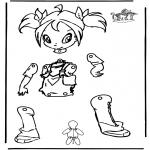 Håndarbejde - Pull-puppet Winx