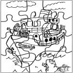Prik-kort - Puzzel Sint 3