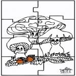 Håndarbejde - Puzzle Autumn