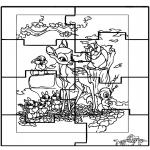 Håndarbejde - Puzzle Bambi