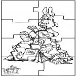 Håndarbejde - Puzzle Bobo