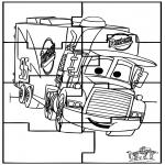 Håndarbejde - Puzzle Cars