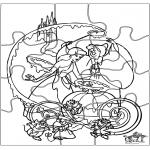 Håndarbejde - Puzzle Cinderella
