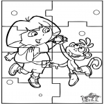 Håndarbejde - Puzzle Dora