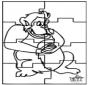Puzzle monkey