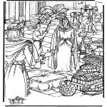 Bibel-malesider - Queen of Sheba