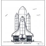 Diverse - Raket lancering