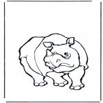 Dyre-malesider - Rhino 1
