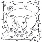 Dyre-malesider - Rhino 2
