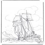 Diverse - Sailing ship 1