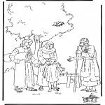Bibel-malesider - Samuel naar de tempel