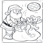 Jule-malesider - Santa claus