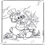 Sjove figurer - Scrooge McDuck 2