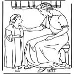 Bibel-malesider - Servant girl Naäman