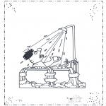 Børne-malesider - Sesame streat 11