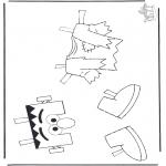 Børne-malesider - Sesame streat 13