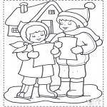 Vinter-malesider - Singing in the snow