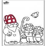 Prik-kort - Sinterklaas 52