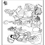 Prik-kort - Sinterklaas 54