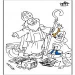 Prik-kort - Sinterklaas 55