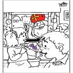 Prik-kort - Sinterklaas 56