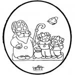 Prik-kort - Sinterklaas Prikkaart 7