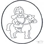 Prik-kort - Sinterklaas Prikplaat 3