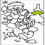Vinter-malesider - Sled 2