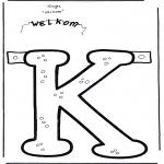 Håndarbejde - Slinger welkom K
