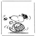 Sjove figurer - Snoopy 1