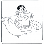 Sjove figurer - Snow White 10