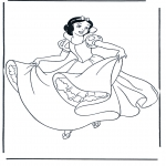 Sjove figurer - Snow White 3