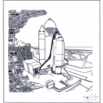 Diverse - Space shuttle