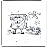 Børne-malesider - SpongeBob 2