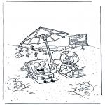 Børne-malesider - SpongeBob 3