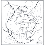 Bibel-malesider - Sshepherd and sheep