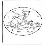 Sy-kort - Stitching cartoon 9