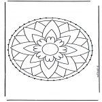 Sy-kort - Stitchingcard 7