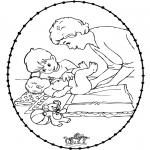 Tema-malesider - Stitchingcard baby 1