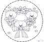 Stitchingcard little bear